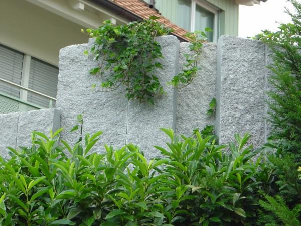 ungeahnte vielfalt an sicht- und lärmschutz varianten - Gartenabgrenzungen Aus Stein